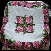 Rose Print Tablecloth