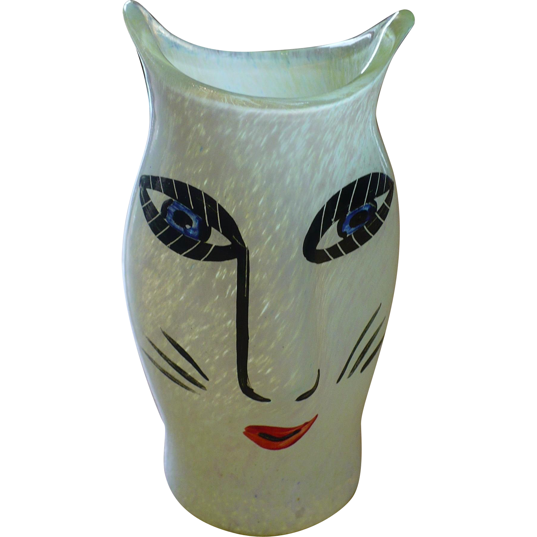 Kosta Boda Cat Vase From Looluus On Ruby Lane