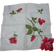 Roses Handkerchief