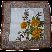 Schnurer Autumn Handkerchief