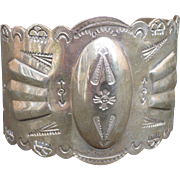 Nickel Silver Southwest Bracelet