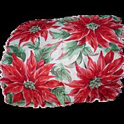 Poinsettia Handkerchief