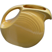 Small Yellow Fiesta Pitcher