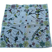 Hockey Ice Skating Handkerchief
