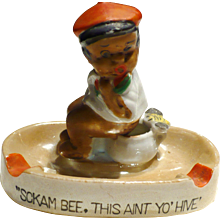 Black Americana Ashtray