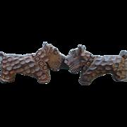 Scotties Wood Scarf Clip