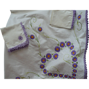 Embroidered Cloth Napkins