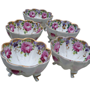 Scalloped China Cups