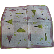 Faith Austin Umbrella Handkerchief