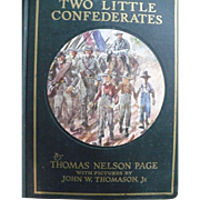 Two Little Confederates Book