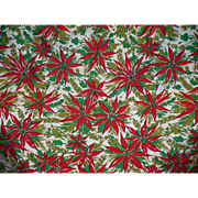 Poinsetta Xmas Tablecloth