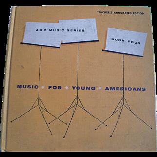1963 Children's Music Textbok