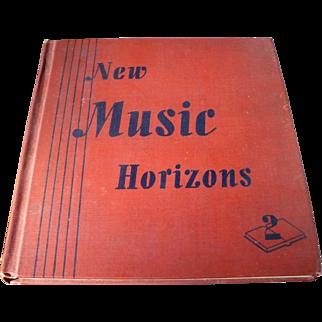 Music Horizons Textbook 1944