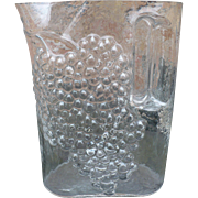 Glass Grape Pitcher Riedel