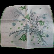 Floral Handkerchief Jeanne Miller