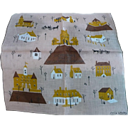 Governors Palace Williamsburg Handkerchief