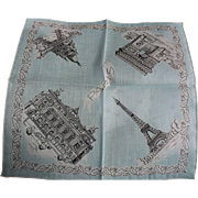 Paris Handkerchief