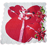 Valentine Candy Box Handkerchief