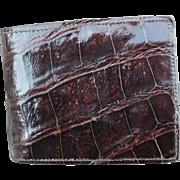 Alligator Wallet - Red Tag Sale Item