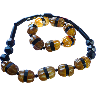 Bakelite Necklace Bracelet