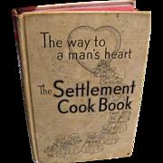 Settlement Cookbook 1945