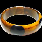 Bakelite Dot Bracelet
