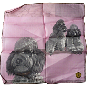 Poodle Handkerchief