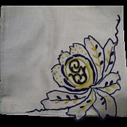 Initial G Handkerchief
