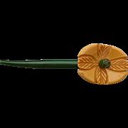 Bakelite Sew-on Flower
