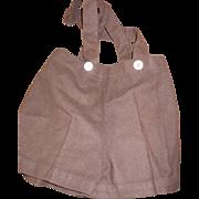 1950's Wool Boy's Shorts