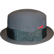 1960's Black Dobbs Hat