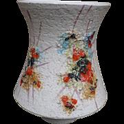 Italian Pottery Vase Mid Century