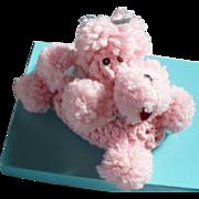 Knit Poodle Soap Cover