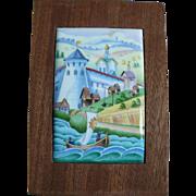 Russian Porcelain Picture