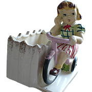 1956 Girl Tricycle Planter