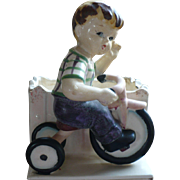 1956 Boy Tricycle Planter