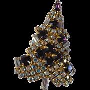 Eisenberg Ice Xmas Tree Pin