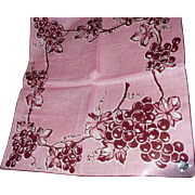 Herrmann Grape Handkerchief