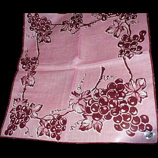 Herrmann Grape Handkerchief