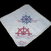 Ship Wheels Handkerchief