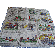 Historical Events Handkerchief
