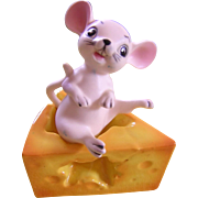 Mouse Cheese Salt Pepper Set