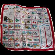 Hot Cold Handkerchief