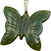 Jade Butterfly Charm