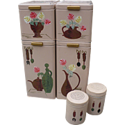 Ransburg Canister Salt Pepper Set