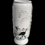Ceramic Poodle Vase