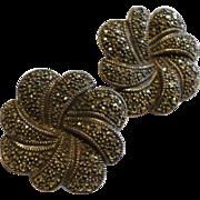 Judith Jack  Marquisite Earrings