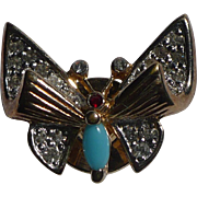 Panetta Butterfly Pin Tack