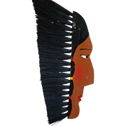 Wood Indian Clothes Brush