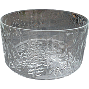 Finland IIttala Glass Fruit Bowl